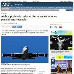 Airbus pretende instalar literas en los aviones para ahorrar espacio