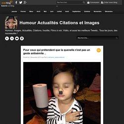 Pour ceux qui prétendent que la quenelle n'est pas un geste antisémite .. - Humour Actualités Films et Images