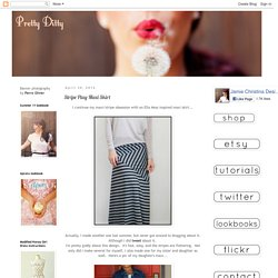 Pretty Ditty: Stripe Play Maxi Skirt