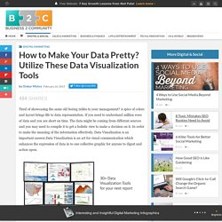 How to Make Your Data Pretty? Utilize These Data Visualization Tools