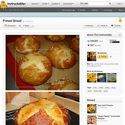 Pretzel Bread - StumbleUpon