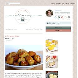 Tracey's Culinary Adventures: Soft Pretzel Bites