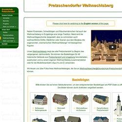 Pretzschendorfer Weihnachtsberg - 48 Bastelbögen (kostenlose Bastelbögen zum Ausdrucken)