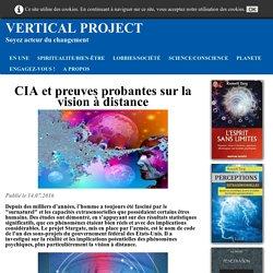 CIA et preuves probantes sur la vision à distance