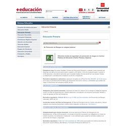 06. Prevención de Riesgos en colegios públicos - Madrid.org - Portal de Educación
