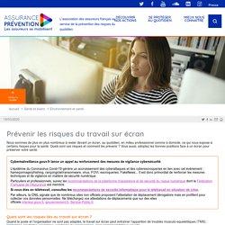 Prévenir les risques du travail sur écran Assurance Prévention