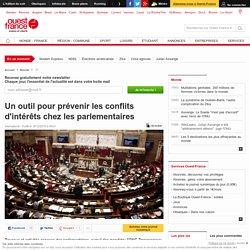 Un outil pour prévenir les conflits d'intérêts chez les parlementaires