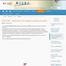 PSE CAP : prévenir les risques professionnels
