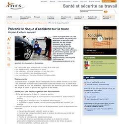 Prévenir le risque d'accident sur la route