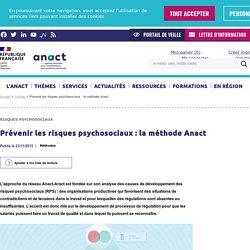 Prévenir les risques psychosociaux : la méthode Anact