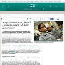 Un spray nasal pour prévenir les suicides dans l'US Army