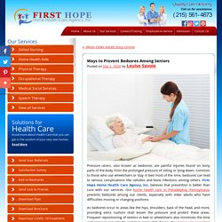 Ways to Prevent Bedsores Among Seniors