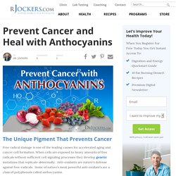 Prevent Cancer and Heal with Anthocyanins