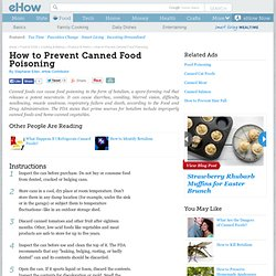 Canned Cat Food Poisoning