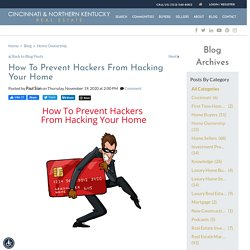 How To Prevent Hackers Stealing From Your Home