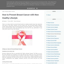 How to Prevent Breast Cancer with New Healthy Lifestyle
