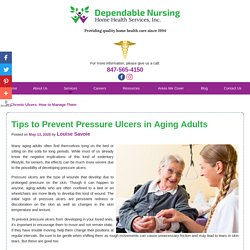 Tips to Prevent Pressure Ulcers in Aging Adults