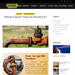 What is Rust? How to Prevent it?