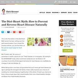 How to Prevent and Reverse Heart Disease Naturally