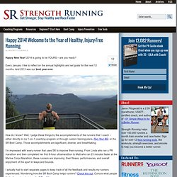 Prevent running injuries with the Year of Injury Free Running!