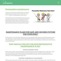 HVAC Preventative Maintenance Services in Brooklyn NY - Vvoy Services Hub