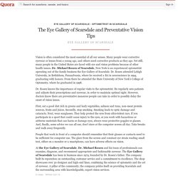 The Eye Gallery of Scarsdale and Preventative V... - Eye Gallery of Scarsdale - Optometrist in Scarsdale - Quora