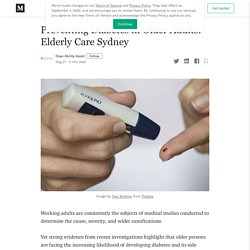Preventing Diabetes in Older Adults: Elderly Care Sydney