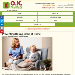 Preventing Dosing Errors at Home