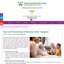 Tips on Preventing Infections After Surgery