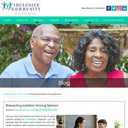 Preventing Isolation Among Seniors