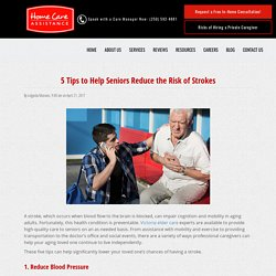 5 Tips on Preventing Strokes in Elderly People