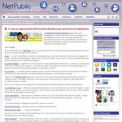 11 jeux en ligne gratuits de Prévention Routière pour les enfants et adolescents