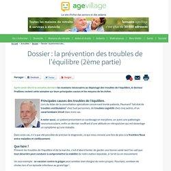 Dossier : la prévention des troubles de l'équilibre (II) - 20/09/16
