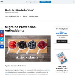 Migraine Prevention: Antioxidants