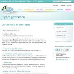 APSAS - Association Picarde pour la Santé et l'Autonomie des Séniors