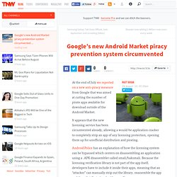 Google's new Android Market piracy prevention system circumvented