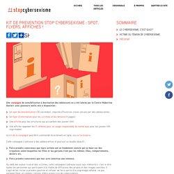 Kit de prévention stop cybersexisme : spot, flyers, affiches !