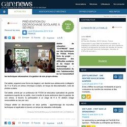 Prévention du décrochage scolaire à Sèvres ‹ Carenews