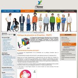 Département de l'Yonne - Politique de prévention et d'insertion: PDI/PTI