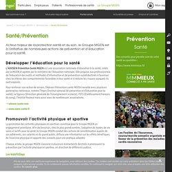 Prévention santé, développer l'éducation pour la santé