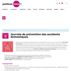 Journée de prévention des accidents domestiques