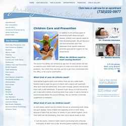 Children Dental Care and Prevention West Long Branch, Eatontown, Oceanport & Long Branch, New Jersey (NJ) – Jersey Shore Dental