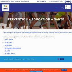 Prévention - Education - Santé - UGSEL 75