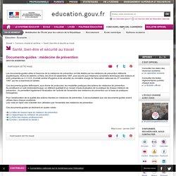 Documents-guides : médecine de prévention