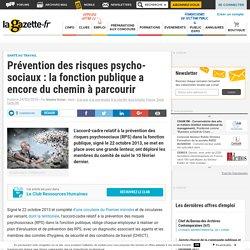 Prévention des risques psycho-sociaux : la fonction publique a encore du chemin à parcourir