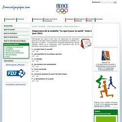 """Diaporama de la mallette """"Le sport pour la santé"""" mise à jour 2011 - Outils de prévention"""