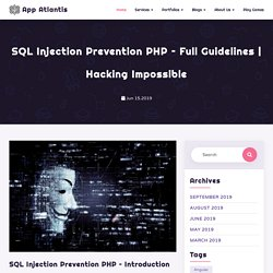 SQL Injection Prevention PHP – Full Guidelines