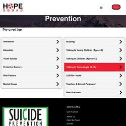 Prevention - Hope Squad