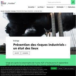 La prévention des risques industriels : un état des lieux