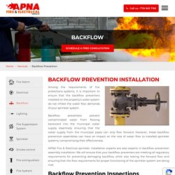 Backflow Prevention Installation and Inspection Services in Surrey, Vancouver